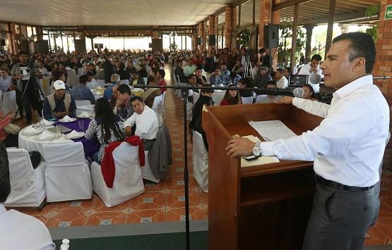 Quiero un Partido Fuerte, que Cumpla con el Propósito de Transformar Esta Nación: Fidel Calderón
