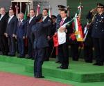 Encabezó Peña Nieto Solemne Ceremonia del Día de la Bandera en Coalcomán