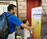 Semujer Promueve el Día Naranja en las Calles de Morelia