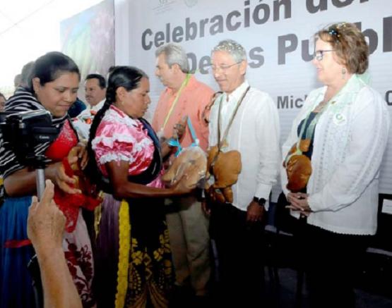 Reconoce Salvador Jara la Aportación de los Pueblos Indígenas Para que Michoacán sea uno de los Estados más Diversos
