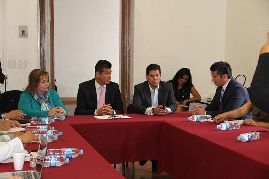 Diputados se Reúnen con Integrantes de la Comisión de Atención a Víctimas