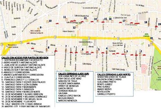 Implementarán Operativo en Morelia por Desfile del 20 de Noviembre