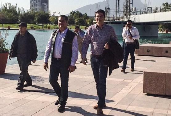 Presidente Municipal Alfonso Martínez en Búsqueda de Estrechar Alianzas con Empresarios de Nuevo León