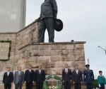 Conmemoran 44 Aniversario Luctuoso del General Lázaro Cárdenas del Río