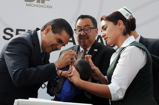 Arranca Gobernador Silvano Aureoles Acciones de la 3a Semana Nacional de Salud
