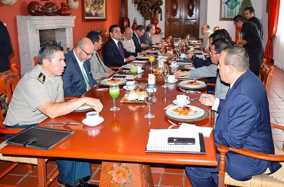 Gobernador Silvano Aureoles y Grupo de Coordinación Michoacán Revisan la Ejecución de Programas Sociales Federales
