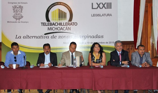 Piden Intervención de Legisladores Para Mejorar Condiciones del Telebachillerato en Michoacán