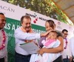 Multiplica Sedesol Acciones Para el Desarrollo Social de Apatzingán