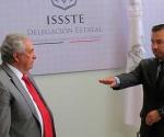 Nuevo Delegado del ISSSTE en Michoacán