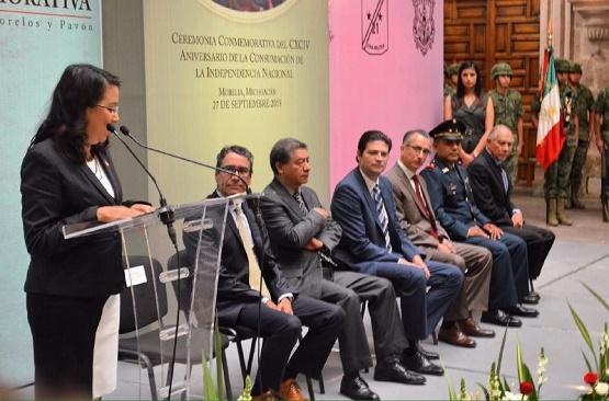 Ayuntamiento de Morelia Celebra el 194 Aniversario de la Consumación de la Independencia