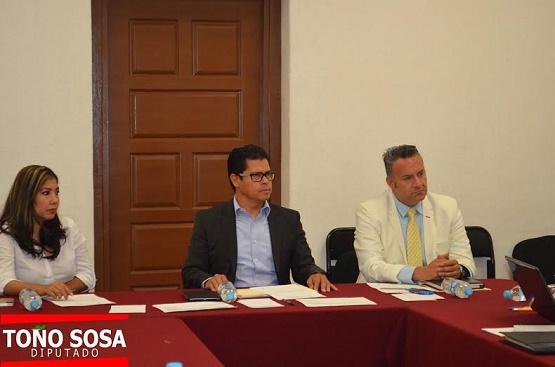 Comisión Inspectora de la Auditoría Superior Avanza en el Análisis de Iniciativas Pendientes: Dip. Antonio Sosa