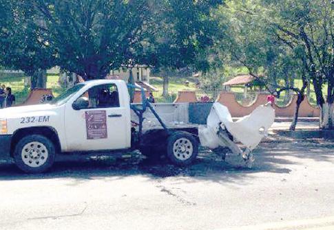 Camioneta Normalistas