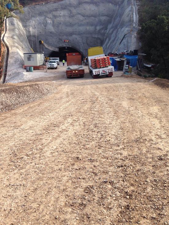 Construcción Túnel
