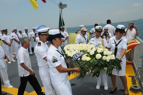 Lázaro Cárdenas, un Puerto de Clase Mundial, Festeja el Día de la Marina