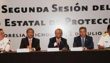 Declara Gobernador en Sesión Permanente Consejo Estatal de Protección Civil por Fenómenos Hidrometeorológicos