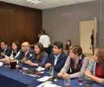 Diputados del PRI se Reúnen con Funcionaria de Gobernación