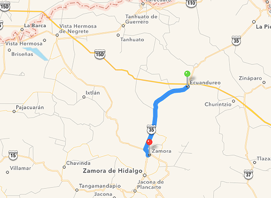 Ecuandureo-Zamora