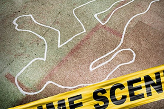 Escena Crimen Muerto Cadaver