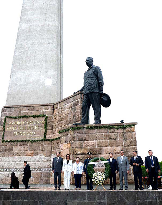 Homenaje Lázaro Cárdenas