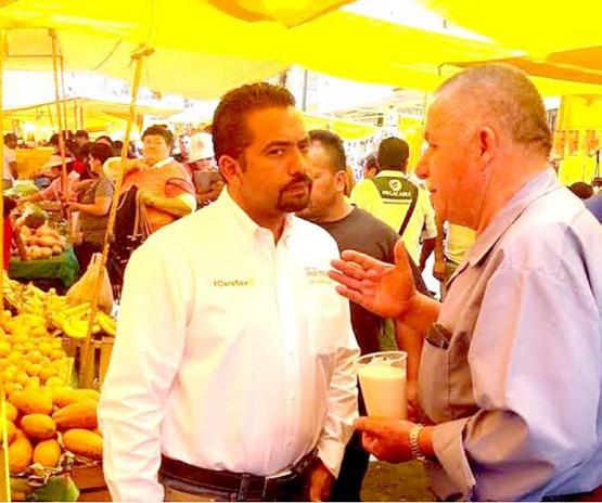 Impulsar al Comercio Local Compromiso de José Luis Montañez