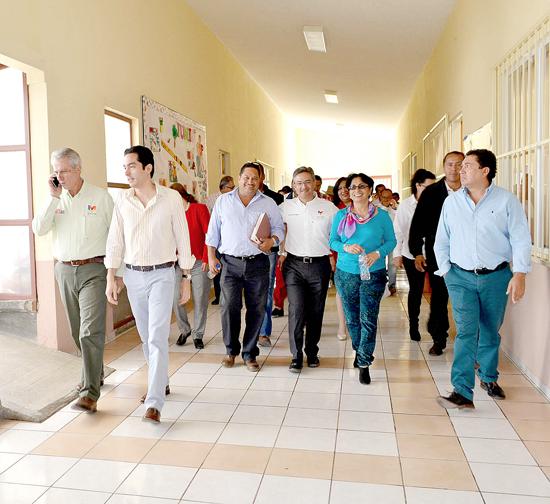 Inauguración, Telesecundaria