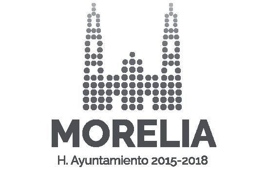 Logo Morelia Gris 2015