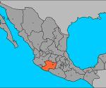 México Michoacán Mapa