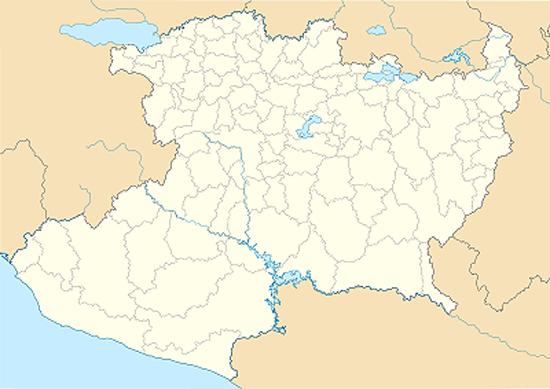 Michoacán-Mapa