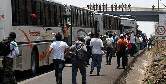 Normalistas Camiones