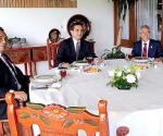 Silvano Aureoles, Adrián López y Salvador Jara