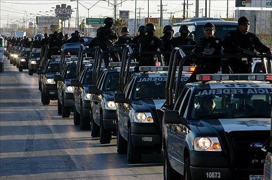 llegada Fuerzas Federales