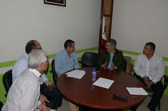 Reunión en Secretaría de Obras Públicas