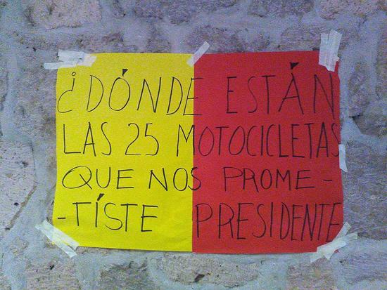 pancarta SEMACM