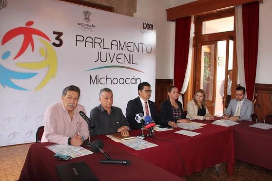 Detallan Bases de la Convocatoria Para Participar en el 3er. Parlamento Juvenil