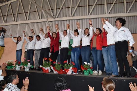 El PRI Trabaja en Equipo y Ganará Carro Completo: Chon Orihuela