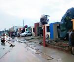 Tornado Ataca Ciudad Acuña, Coahuila