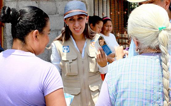 Reitera Rubí Rangel que Trabajará por los Grupos Vulnerables