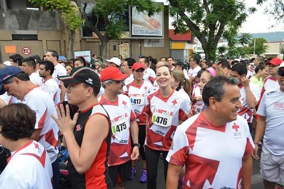 Se realizó con éxito la Tercera Carrera Atlética de la Cruz Roja Mexicana