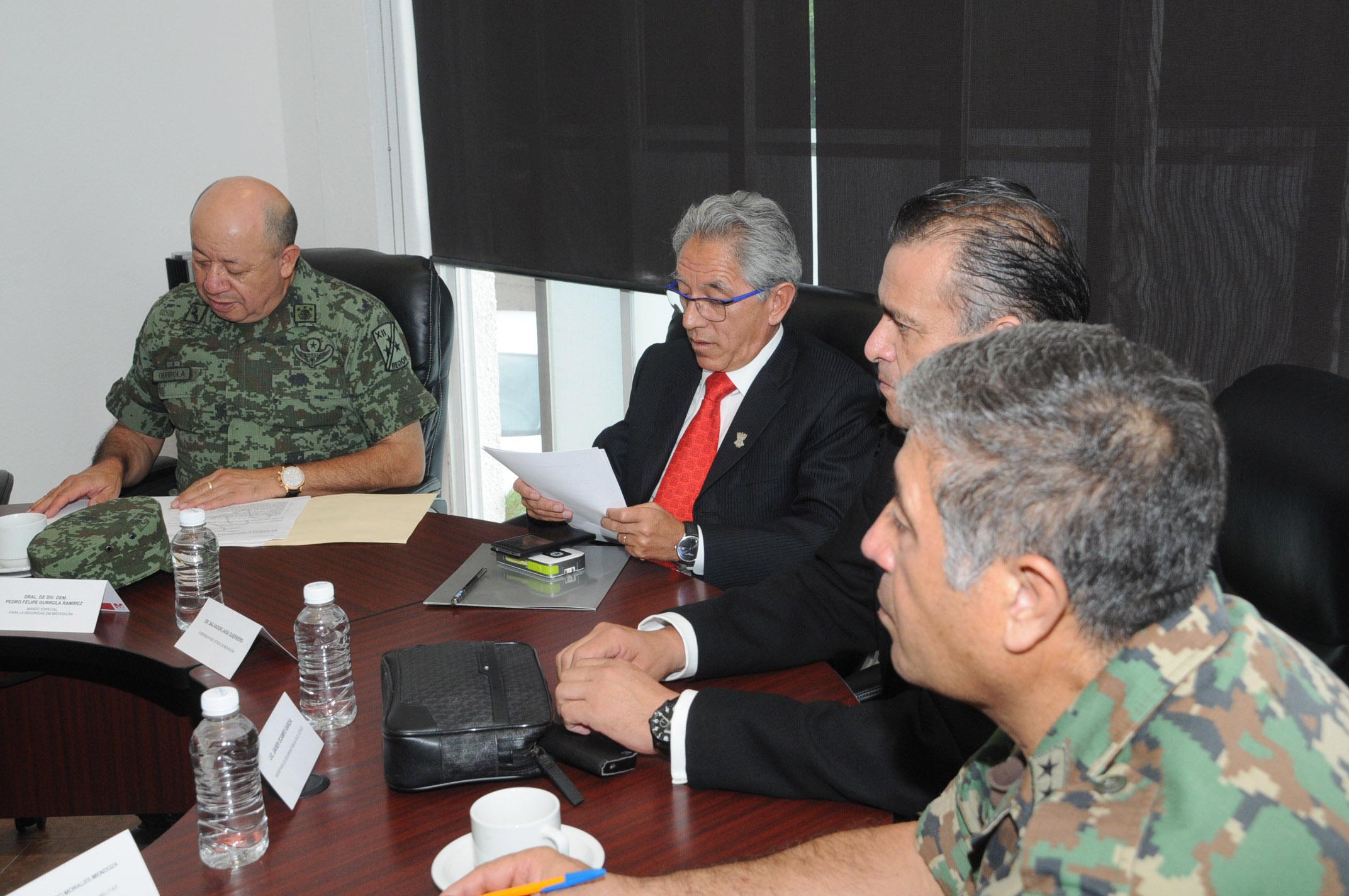 El Tema de Seguridad Será Prioritario en la Transición de Gobierno: Grupo de Coordinación Michoacán