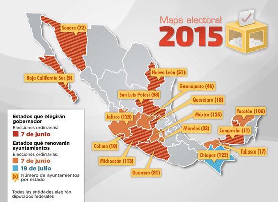 Mapa Elecciones 2015