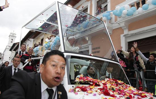 El Papa Viaja a La Paz, Bolivia