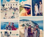 Andrea y Erick en Grecia