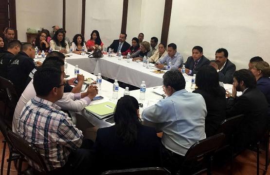 Secretaría Ejecutiva e Instituciones Operadoras del Nuevo Sistema de Justicia Penal Sostienen Reunión con Abogados de la Región Uruapan