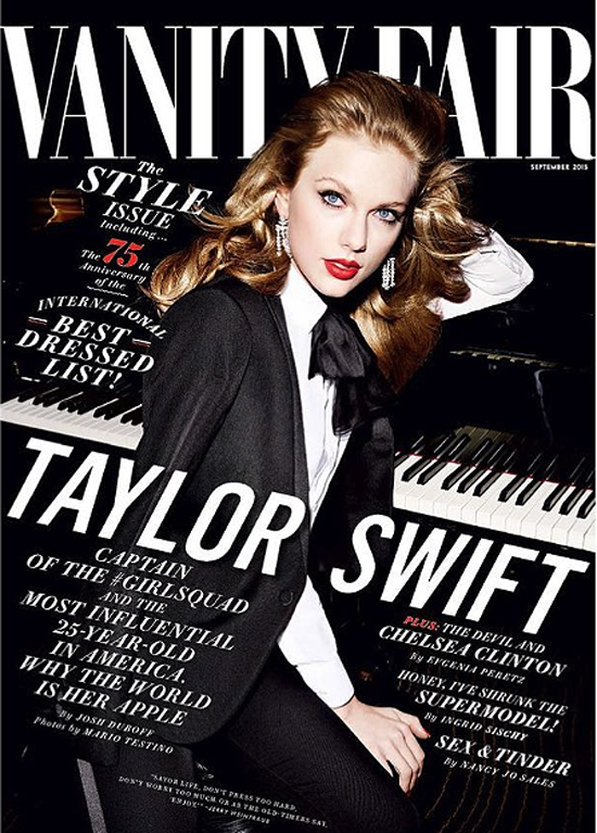 Taylor en Vanity