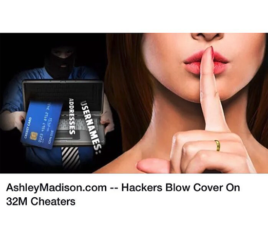 Sitio de Citas en Internet Revela a los Infieles