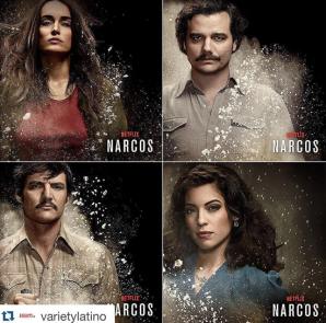 Narcos en Netflix