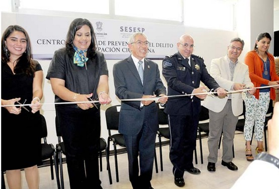 Inaugura Salvador Jara Guerrero el Centro Estatal de Prevención del Delito y Participación Ciudadana