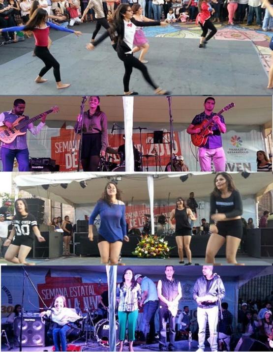 SEJOVEN Organiza Concierto Juvenil en Avenida Madero