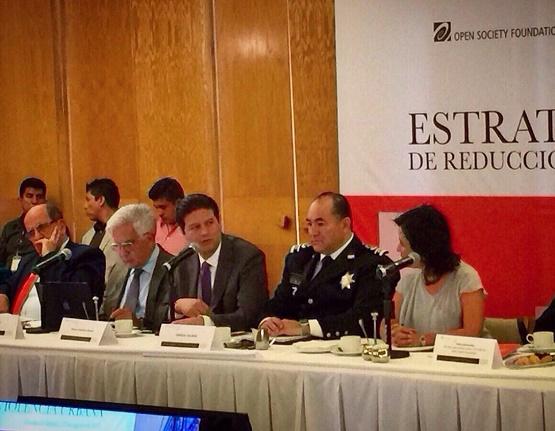 Asiste Alfonso Martínez a Foro de Estrategias Locales en Materia de Seguridad