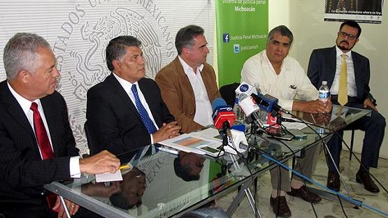 Organo Implementador en Michoacán y Organizaciones de la Sociedad Civil Coadyuvan Trabajos Para Implementación del NSJP